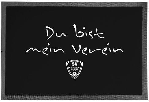 """Fussmatte """"Mein Verein"""""""