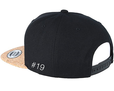 Kappe mit Lederpatch, personalisierbar