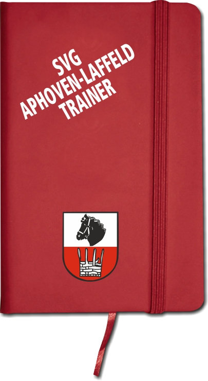 """Notizbuch """"Trainer"""""""