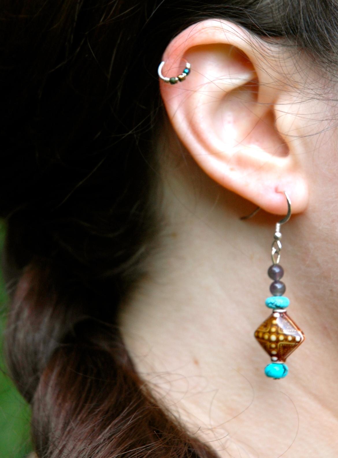Merkaba Earrings