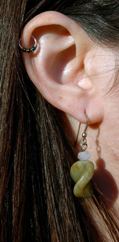 Apple Twist Earrings