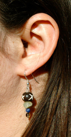 Jungle Bone Earrings