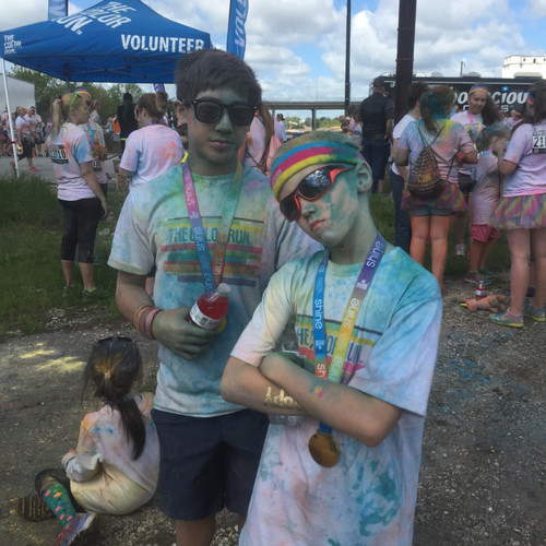 Team Activity - Color Run