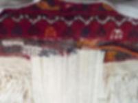 Kilim tapis d'asie chaînage réparation des chaînes asie centale