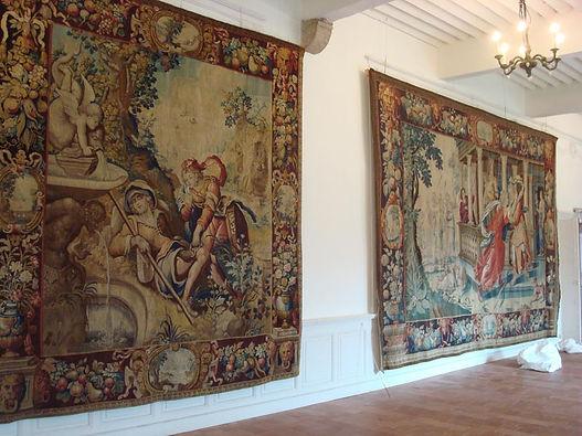Installation de tapisseries comment installer tapisseries système d'accrochage réparatio de tapis
