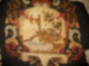 réparation restauration siège au point recréation du dessin scène Jean de la Fontaine