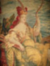 Restauraton tapis pour musée Amérique