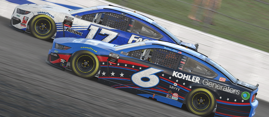 Tale of Two Races: Roush-Fenway Gaming drivers in tough spot after rough trip to The Magic Mile