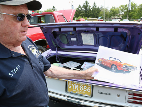 Car enthusiasts and dealership unite for car show