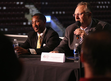 Commissioner of NBL Canada talks about Game 7 situation during town hall meeting