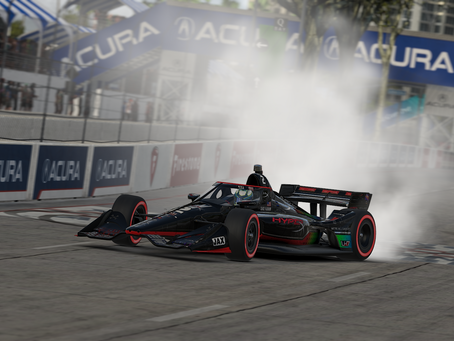 Karam cruises to victory in inaugural race at Long Beach