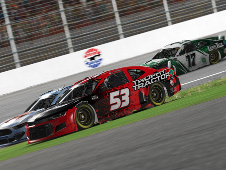 Smithley makes pass in the grass, wins at Las Vegas Motor Speedway
