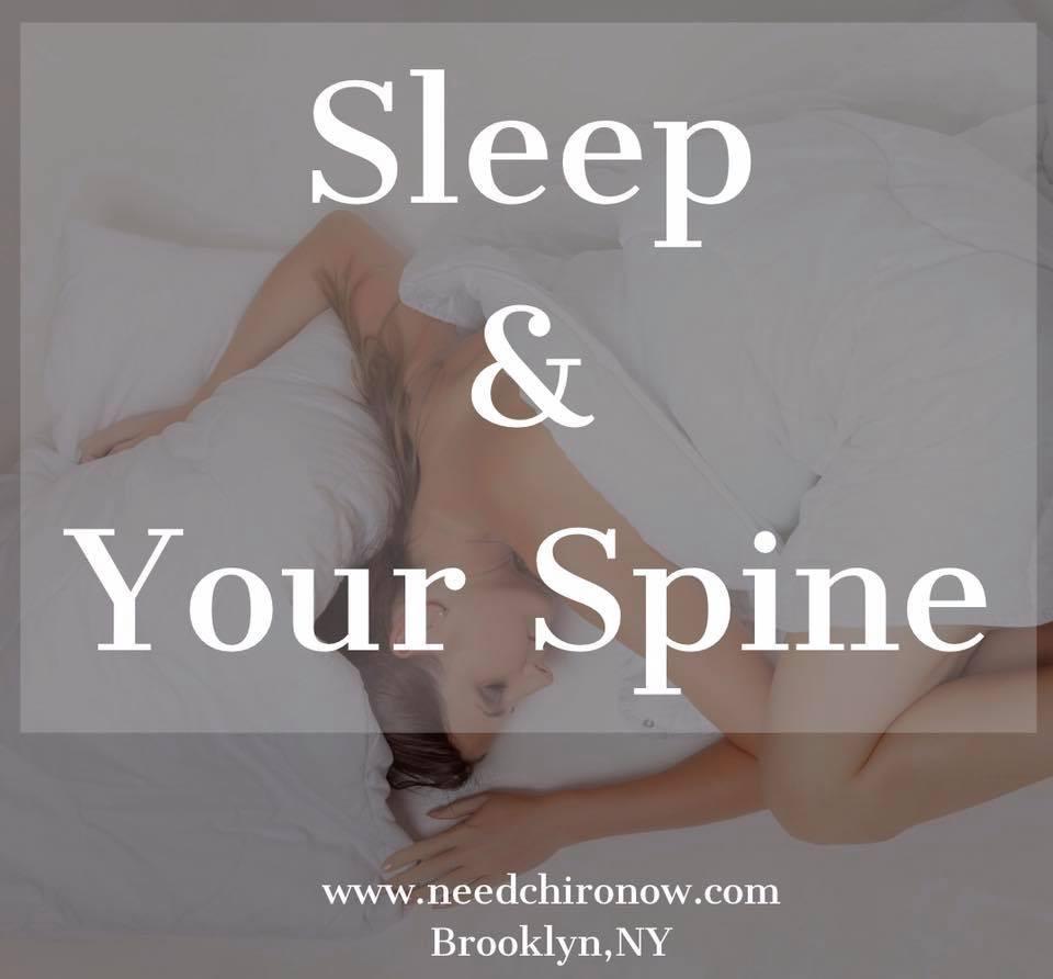 Chiropractic, sleep, spine