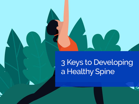 3 Keys to Developing a Healthy Spine