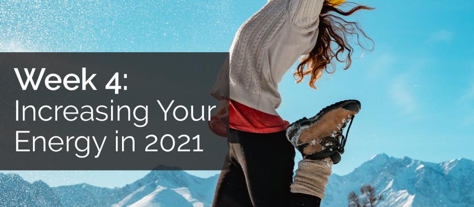 Increasing Your Energy in 2021