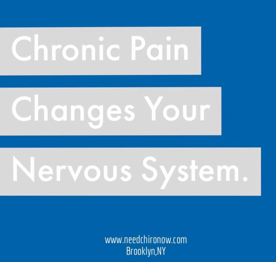 Chronic pain, nervous system, chiropractic