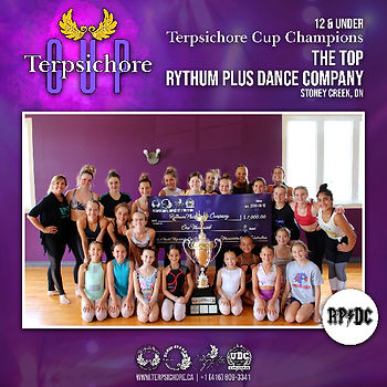 The Top from Rythum Plus Dance Company, Stoney Creek, ON