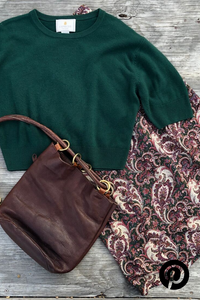 Sweater, skirt & purse from Not Your Mama's Vintage