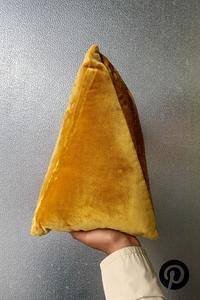 3-D Triangle Pillow