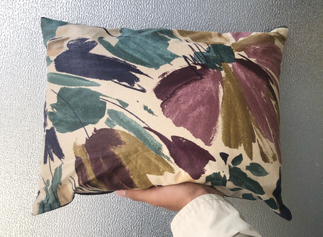 Pillow Power: Our Up-Cycled Pillows