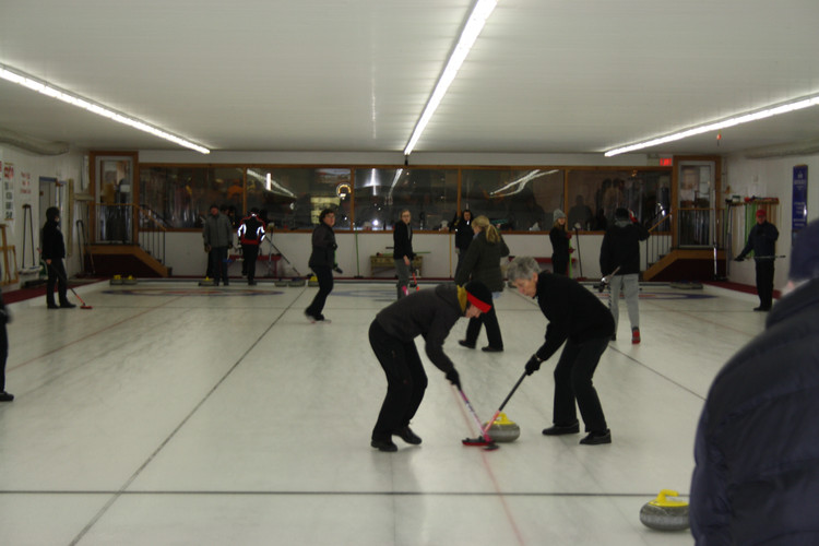 Curling for the kiddies