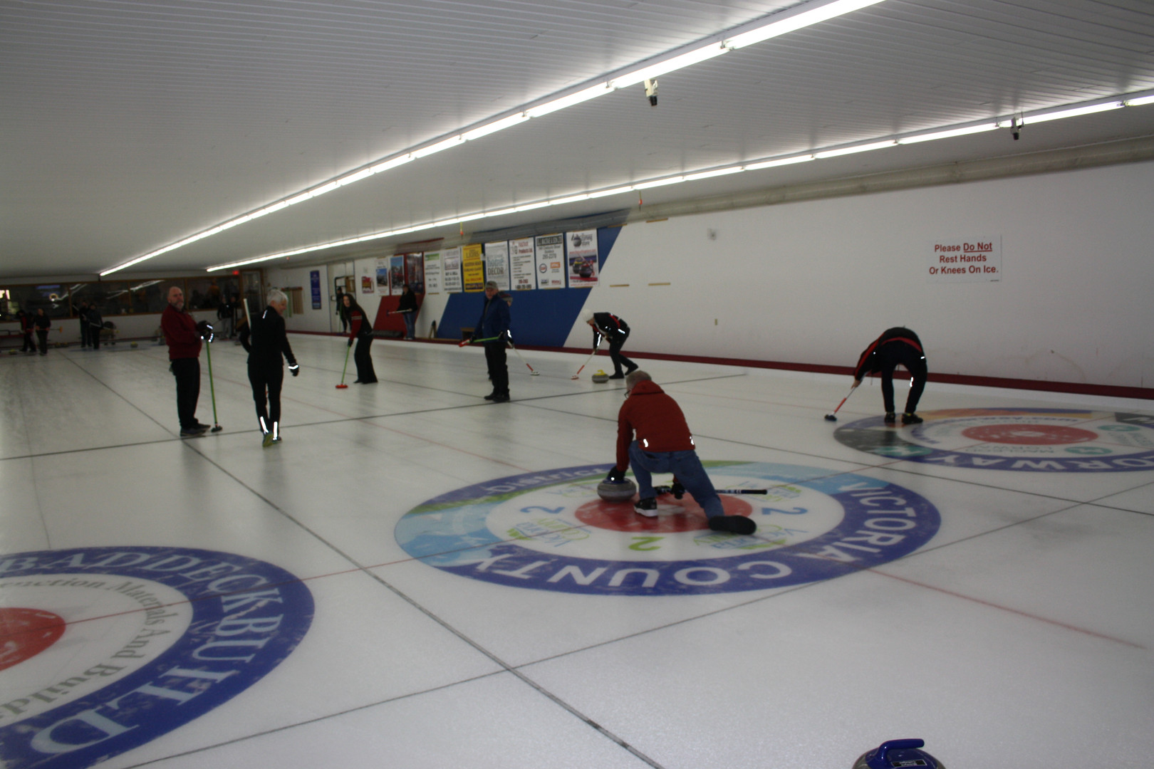 Curling for the kids!