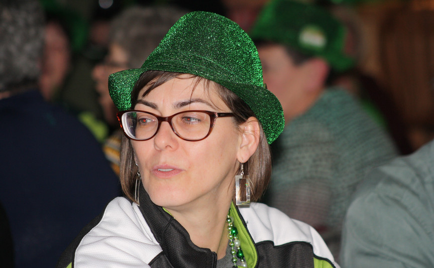 Loving the green hats!