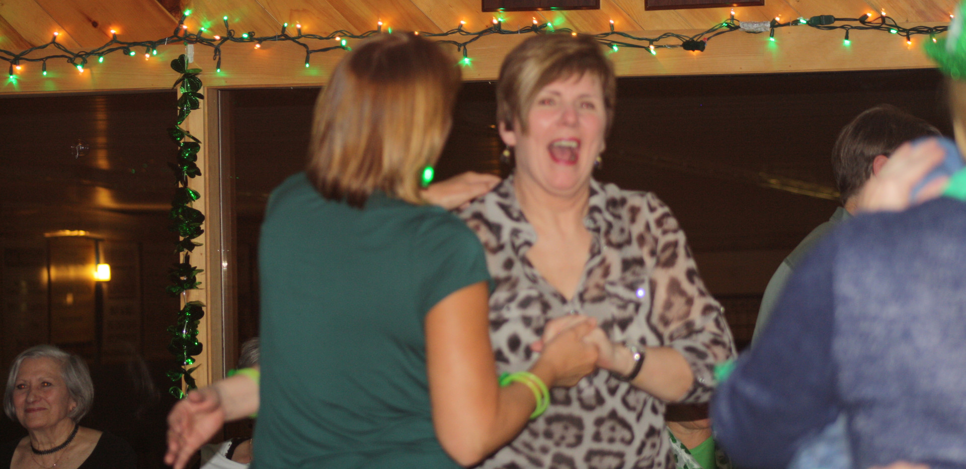 Dancing up a great time!