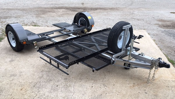 Tandem Tow Dolly for Full Dress Motorcycle