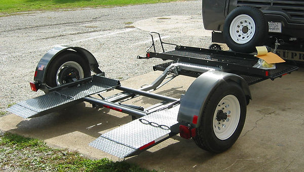 Car Dolly with Scooter Platform