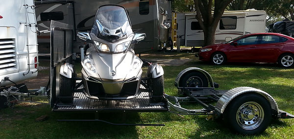 Tow Dolly, Auto Dollie, Trike, Three Wheeled Motorcycle & Vehicle