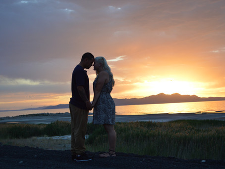 Anniversary Photography: Utah Salt Flats