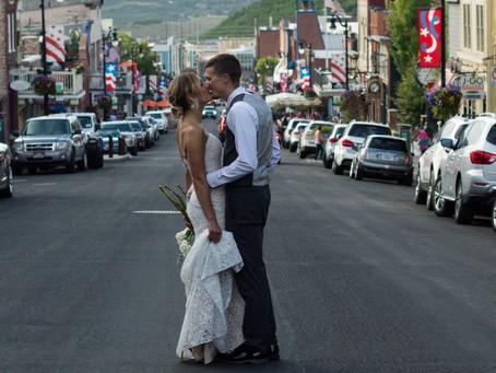 Wedding Photography: (Part 1)Park City Main Street