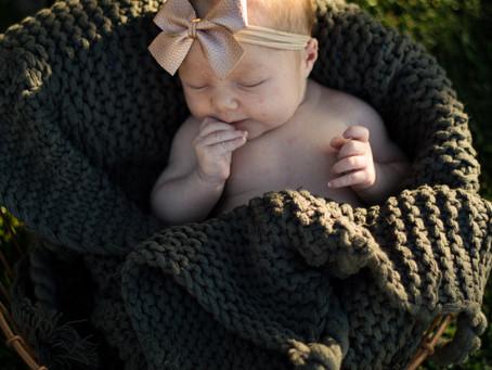 Newborn Photography: Riverton, Utah