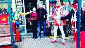 Carnaval 2021, 'oog bezoek en heul veul foto's