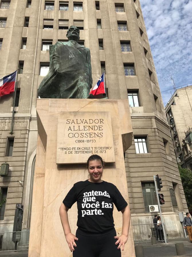 Uma vez no Chile...