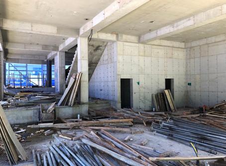 1층 동바리 철거완료