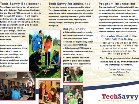 Tech Savvy April 18 for girls