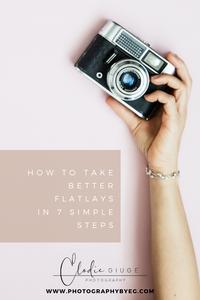 Flatlay tutorial