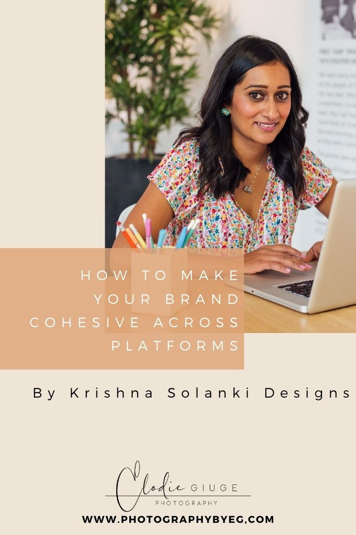 How to make your brand cohesive across platforms by Krishna Solanki Designs