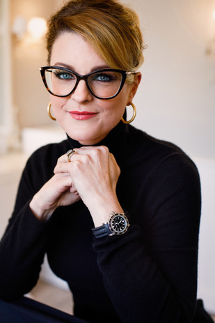 Elegant headshot of female professional Cambridge