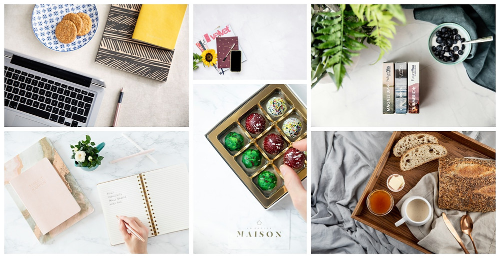Flatlay examples - Elodie Giuge Photography