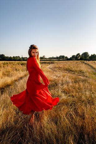 Cambridge Beauty Portrait Outdoor Photography
