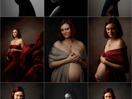 Meghan's maternity portraits