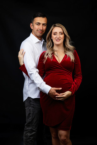 Empowered pregnancy photography