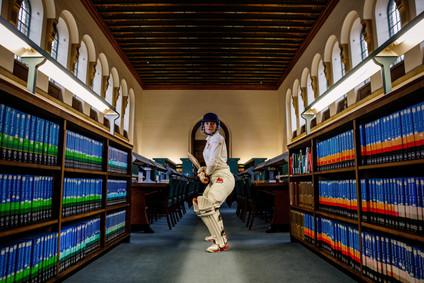 Environmental Portrait. Cricket. Cambridge University. Elodie Giuge Photography