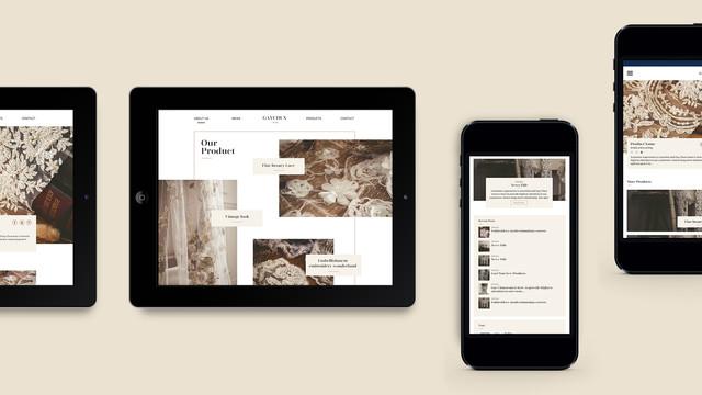 視覺策劃/網頁設計/商品拍攝