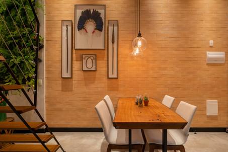 Mesa de Madeira Maciça Jantar Rústica