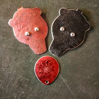 Red and black bear