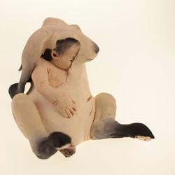 'BIOLOGICAL MOTHER'  #sculpture #rabbit